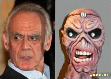 Άκης Τσοχατζόπουλος vs Eddie (Iron Maiden)
