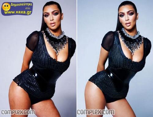 Διασημότητες πριν και μετά το ... photoshop 07