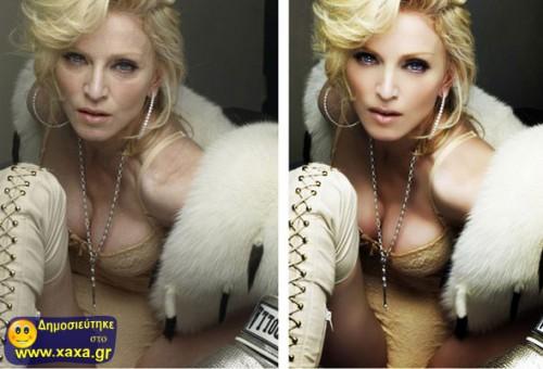 Διασημότητες πριν και μετά το ... photoshop 08