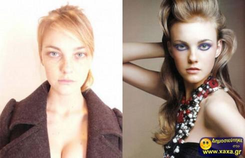 Μοντέλα χωρίς μακιγιάζ και photoshop  (6)