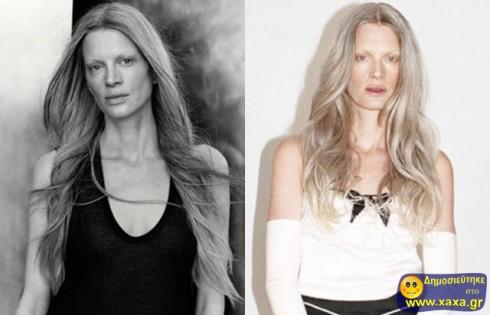 Μοντέλα χωρίς μακιγιάζ και photoshop  (21)