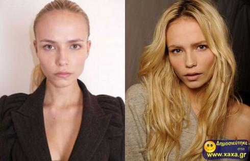 Μοντέλα χωρίς μακιγιάζ και photoshop  (27)