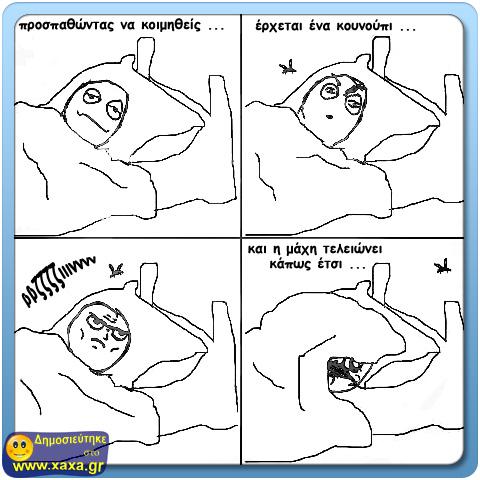 Μάχη με κουνούπια ...